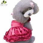 All Seasons Pet юбка Платье Тедди Принцесса Собака платья Прекрасные Платья Для Собак Подходящее Домашнее Животное Одежда Платье Девушки XS-XL