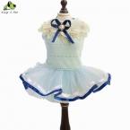 Весна лето подходящие Pet юбка лепестка-форма платья новинка для тедди маленькие собаки размер XS-XL