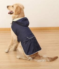 Оптовая Дешевые Одежды Собаки Зимы собаки Толстый Съемный Колпачок Одежды Большая Собака Жилет Теплая Одежда Pet Одежда Для Собак Товаров для домашних животных