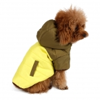 4 цвет зимой толстые теплый небольшой для собаки одежда для животных хлопка-ватник с капюшоном одежды кошка одежда горячей новое поступление горячие бесплатная доставка