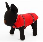 Оптовая продажа цена Зима теплая домашних собак одежда ночной безопасности светоотражающие полосы пальто одежда щенок кошка одежды костюм куртка