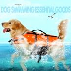Горячая распродажа собака спасательный одежда учебные желтые любимчика продукта щенок кот спасательный жилет все размер 6 размеры-бесплатная собака плавание жилет