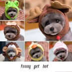 Домашних собак костюм крышка прекрасный шляпа для щенка плюшевого мультфильм автомобилей-дак-банни-лягушка-клубника животных Shapeshift собаки зоосалон аксессуары одежды