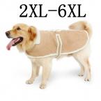 Оптовая продажа дешевой цене Большая собака зимняя одежда для домашних животных одежды шаль средний овец одежда теплое пальто для больших собак Pet товаров