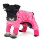 Собака комбинезон розовый синий собака собака одежды костюм прекрасный щенка продукт носить милая собака пижамы девушка бесплатная доставка
