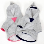 Оптовая продажа Дешевые одежда для животных щенок кошка пальто куртка с капюшоном свитер футболка зимней одежды одежды для маленьких собак прямая поставка