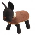 Маленький средний домашних собак щенок Snowsuit зима теплая куртка пальто кошка одежды ткань замши теплая одежда флис 3 цвет