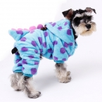 Одежда для животных дракон костюм комбинезоны собаки щенок кошка куртка с капюшоном чихуахуа симпатичные теплая зима ClothingFor маленький средний любимая