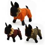 Собака одежда зима теплая одежда для домашних животных меховой воротник куртки прочный зимнее пальто щенок кошка одежды хлопок 5 размера