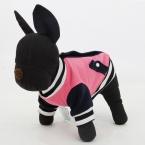 мода американских досуг домашним животным зимняя куртка щенок кошка теплая одежда 4 цвета XS-XL толстовки