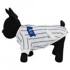 Собака куртка одежду в полоску хлопок пальто щенок тедди кофты теплый зимняя одежда толстый малого-среднего собака