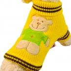 Домашних собак кот шаблон свитер одежда Pet зима теплая одежда щенок одежда костюм милый модный дизайн для малого-среднего