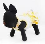 поступление Pet платье маленький желтый утка тепловой утолщение одежды одежда тедди собак бишон собака лето зоотоваров