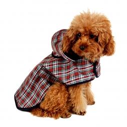 Животное одежды собаки собака плащ питомец куртка светоотражающие дождь Pet водонепроницаемый пальто плед собака пончо тедди плащ S / M / L / XL