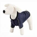 Pet пальто четыре фута плюшевый зимний плащ решетки хлопка-ватник кошка носить 4 цвет отправить случайно
