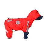 Малый домашних собак толстовка куртки пальто дождя прочный водонепроницаемый одежду отражающий ночь безопасности пуходерки комбинезон одежда спецодежда
