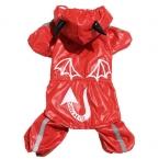 S-5xlpet собаки плащ одежды мультфильм шаблон шутки щенок комбинезон с капюшоном водонепроницаемый дождь куртки BigDog одежды кошка одежда
