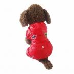Животное одежды для домашних плащ для собак кошки зима ткань печать дешевые ткани животных для щенков кошка собака зимой дождь пальто горячая распродажа