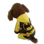 S-5xl кота собаки любимчика плащ одежды мультфильм шаблон летучей мыши щенок комбинезон с капюшоном водонепроницаемый дождь куртки BigDog одежды кошка одежда