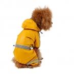 Животное плащ щенок пвх одного - палуба плащ лентой отражающие безопасности водонепроницаемую одежду бесплатная доставка