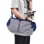 Дешевое Предложение Оптовая Pet Сумка Собака Сумка Щенок Полоса Холст Sling Bag Cat Перевозчиков сумки Рюкзаки