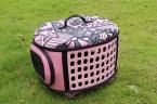 продавать портативные - конец мода многоцветной печать собака пакет складной щенок кошка рюкзаки пэт-тара