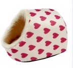 поступление Pet дом щенок кошка собака леопарда / Zebry / отпечатки лап / персик модели сердца 5 вариантов кровать собаки Pet продукт завод