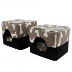 Домашних собак многофункциональный дом кровать щенок питомник теплые собачка диван конура кошка гнездо мат для малого-среднего собака товаров для домашних животных