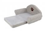 Мода кровать собаки Pet мягкая подушка питомник милый лапа дизайн Pet диван серого цвета щенок складная кровать для домашних животных хлопка