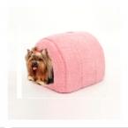 Прекрасный дом любимчика с луком собаки питомника щенок и кошка кровати дугообразную форму легко мыть легко взять щенок кошка 5 цветов