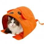 новый мультфильм форма для малого и среднего размера кошкин дом палатка щенок котенок кровать кролик кровать удобного хранения путешествия кот девушка