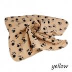 Животное одеяло прекрасный дизайн отпечаток лапы мягкий теплый ватки собаки одеяло кошка мат щенок диван кровать чехлы уютная 60 * 70 см