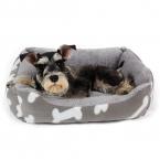 Горячие продаж Кровать собаки питомник мягкие собаки кость коврики щенок кошка кровать дом любимчика уютное гнездышко маленькая собака зима теплая домашних животных подушка товары для животных