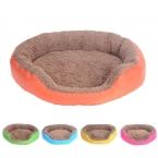 Новые конфеты цвета круговой питомник ватерлоо двусторонней осень зима теплая гнездо питомник для кошки щенок S / M / L 5 цветов