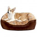 высокое качество Pet кровать собаки / Cat мягкие питомник милая собака дом щенок подушки прекрасный отпечаток лапы товары для животных