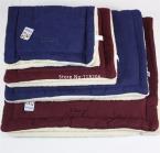 Зима маленький средний Pet большой собаки щенок мягкое одеяло кровать мат питомник теплый постельные принадлежности обивка дом уютный 4 размер XS-L