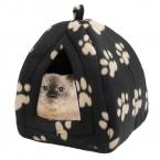 Горячая распродажа собаки питомника с лапой-бесплатная пинта супер мягкие ткани собака кровати выполнения легко