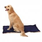 Мягкий теплый собака кот кровать одеяло ватки смешанный размер большой для большая кровать собаки синий и красный XS / S / M / L