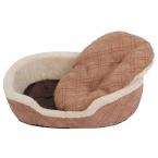 Зимой теплый толстый кровать для собаки роскошная кровать собаки кровать щенок подушку дивана собачья будка животное коврик продукт классический стиль 3 цвет