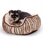 Супер мягкий кровать собаки Pet питомник щенок кошка кора дерева круговой собака дивана корзина диван кровать мат потепление зимой теплый толстый