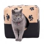 Лапа стиль три различных путей раскладная кровать собаки дом прекрасный мягкий Pet щенок питомник котенок подушки животное коврики продукты для домашних животных