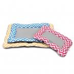 Летом существенно Лед шелк домашних подушки холодной собак кровать 3 цветных полосок щенок питомник коврики уменьшить температуру