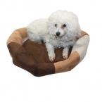 Большой кровати собака мягкой замши питомник теплая постель собака подушка мультфильм вышивка животных дома для домашних животных собака продукты