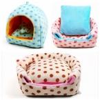 Товары для животных собаку кровать мягкая любимца монголия питомник пятно картины собаки дом два вида путь по использованию кровати