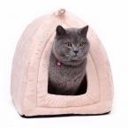 Внутренний доставка конус кошка кровать котенок питомник мягкие ткани кровать собаки дом любимчика щенок кошка с лапой-бесплатная кама пункт Cachorro кошка кровать