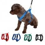 Животное использовать нейлон регулируемый контроль безопасности сдержанность Cat щенок основной воротником мягкая прогулка жилет для малого-среднего большая собака