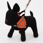 Оптовая продажа Животное использовать для безопасности светоотражающие ошейник оранжевый щенок кошка проводов высокое качество собака продукты для животных