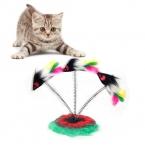 Товары для животных кот игрушки забавные Pet игрушки съемный весна перья мышь игрушка , пригодный для кошек мыши кота игрушки  новое поступление