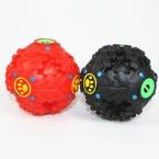 """Хихикать мяч собака сенсорный лечить игрушка обучение Supprise звук щенок игрушки 4 """" собака дырявый подачи 2 цветов горячая распродажа бесплатная доставка"""