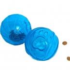 нет-токсичные весело питание диспенсер лечить жевать мяч резиновый Pet продукты игрушки для собак